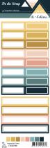 étiquette un air de bohème étiquettes rectangles
