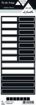 Etiquette un air de famille - Etiquettes rectangles