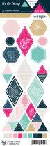 Etiquette un air féérique - Formes géométriques