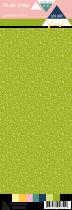 Etiquette un air floral - feuilles vertes