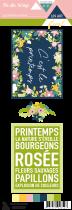 Etiquette un air floral - project life