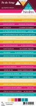 Etiquette un air hindou - bandes de mots