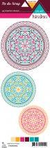 Etiquette un air hindou - cercles
