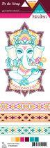 Etiquette un air hindou - frises 1