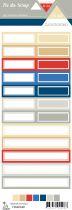 Etiquette un air londonien - étiquettes rectangles