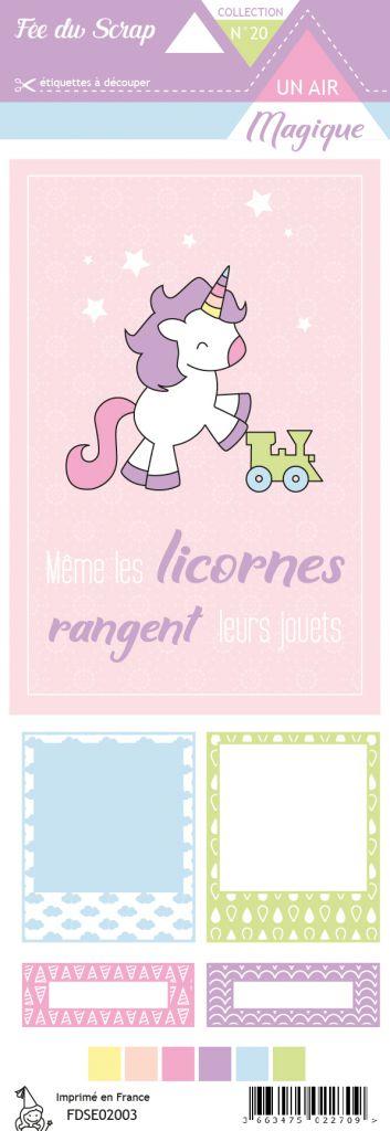 Etiquette un air magique même les licornes