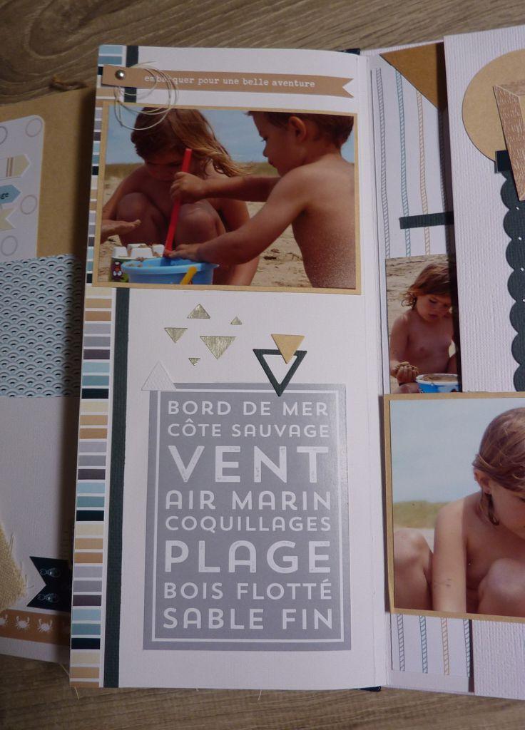 étiquette Un air marin cartes project life