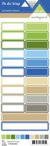 Etiquette un air montagnard - Etiquettes rectangles