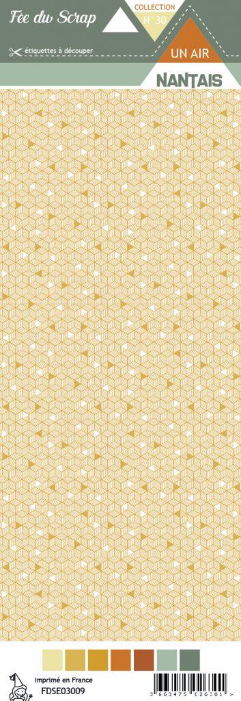 Etiquette un air nantais - hexagones nordiques