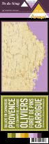 Etiquette un air provencal - carte