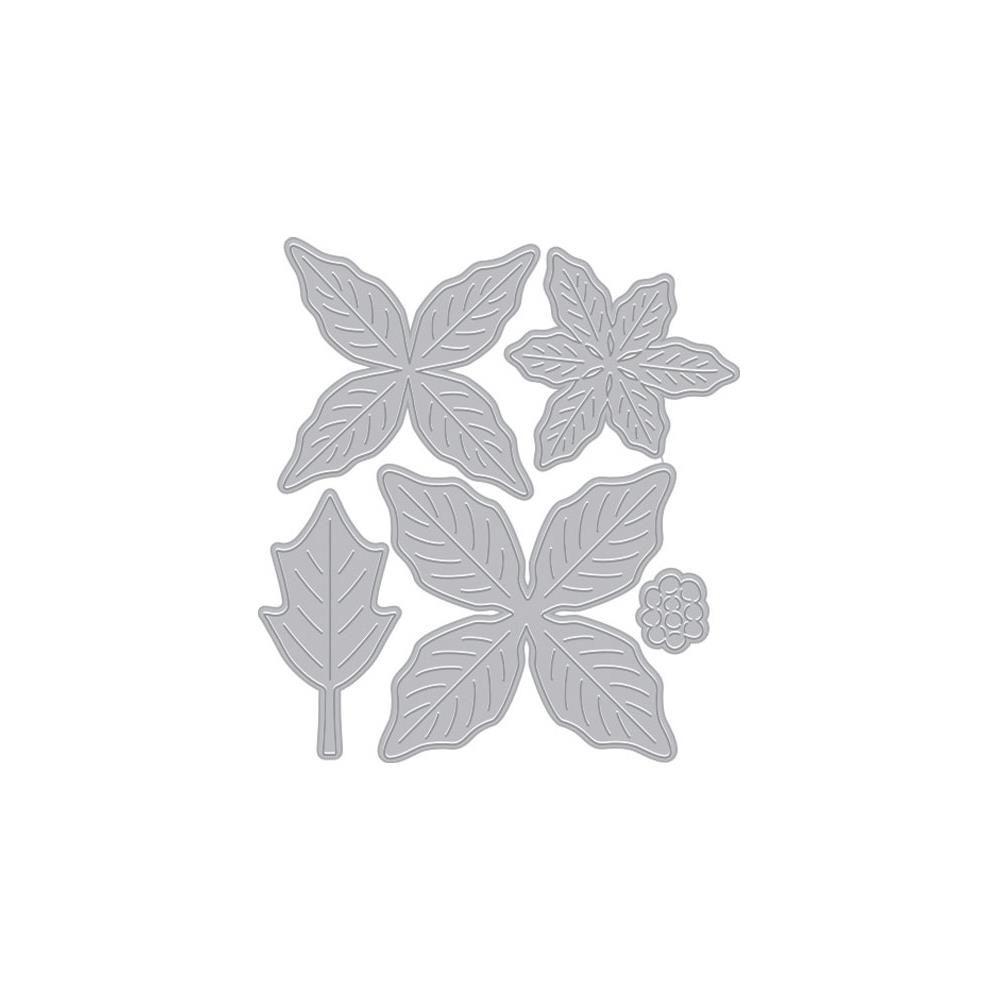 FANCY DIES - Poinsettia