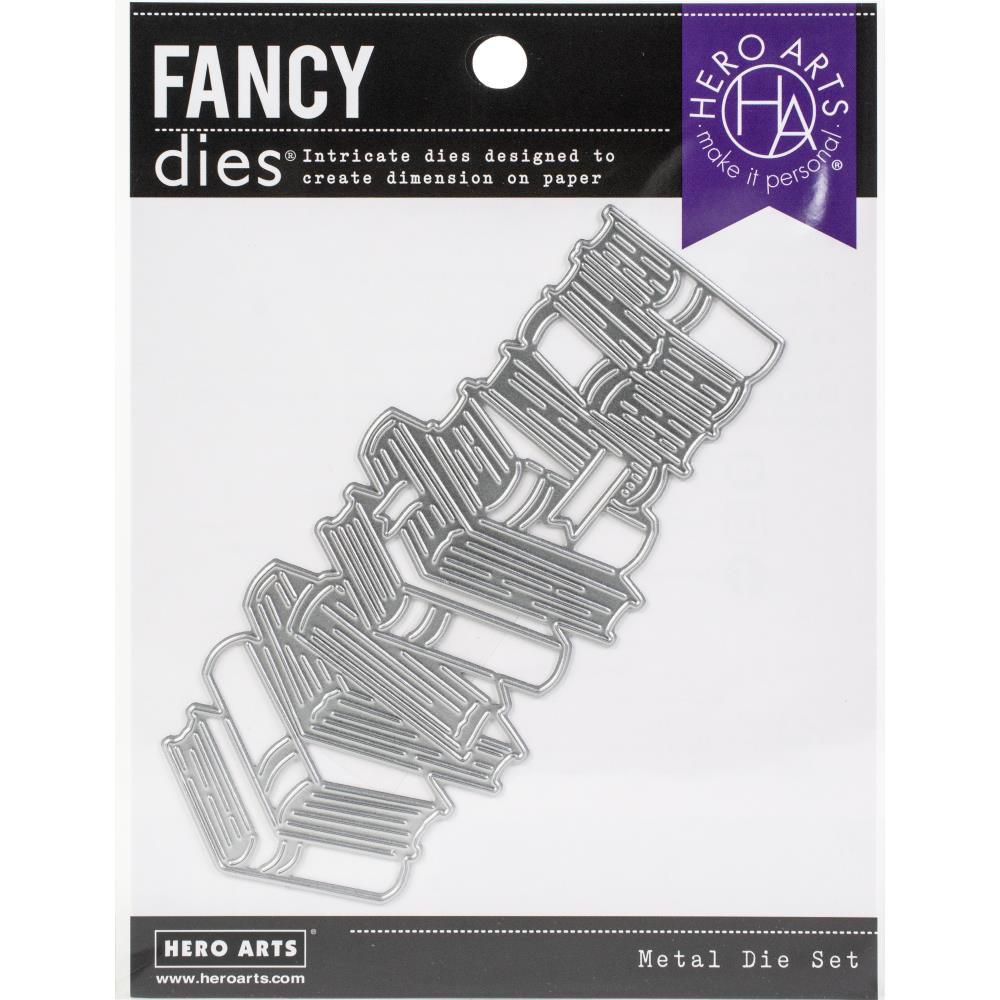 FANCY DIES - STACKED BOOKS