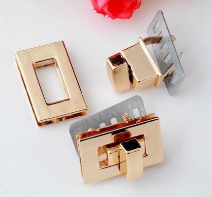 FERMETURE ROSE GOLD 1.6 X 2.6 CM