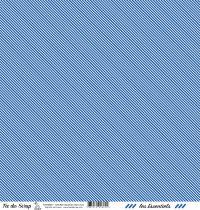 feuille les essentiels bleu jean rayures