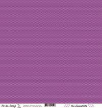 feuille les essentiels croisillons violet chic