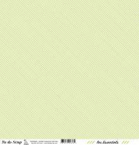 feuille les essentiels vert pale rayures