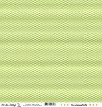 feuille les essentiels vert triangles