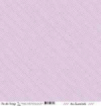 feuille les essentiels violet moyen rayures