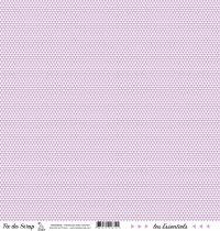 feuille les essentiels violet moyen triangles