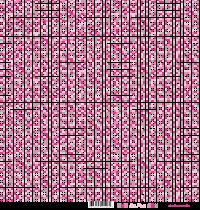 feuille Les pois rose/gris