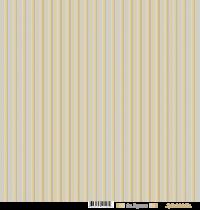 feuille Les rayures beige/gris