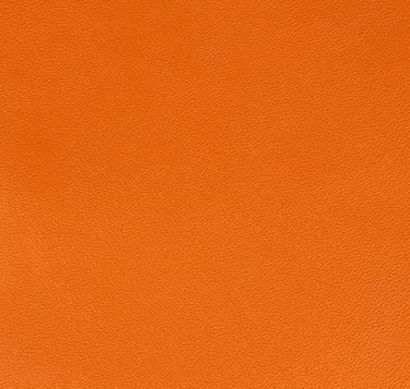 FEUILLE SIMILI CUIR ORANGE