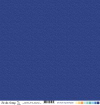 Feuille un air aquatique - Bulles bleu foncé