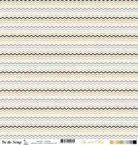 feuille Un air Chic beige chevrons