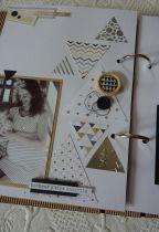 feuille Un air Chic beige triangles