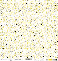feuille Un air Chic jaune mosaique