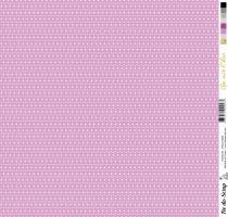 feuille Un air Chic violet étoile parme