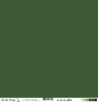 Feuille un air de noël - Sapins - Vert