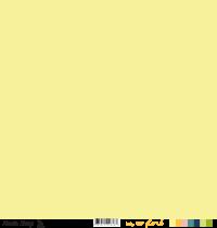 Feuille un air floral - losanges jaunes