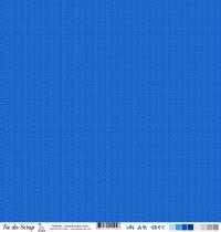 Feuille un air grec - labyrinthe bleu moyen