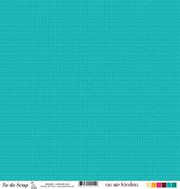 Feuille un air hindou - labyrinthe bleu