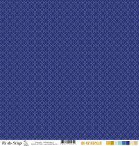 Feuille un air ibérique - lanterne bleue