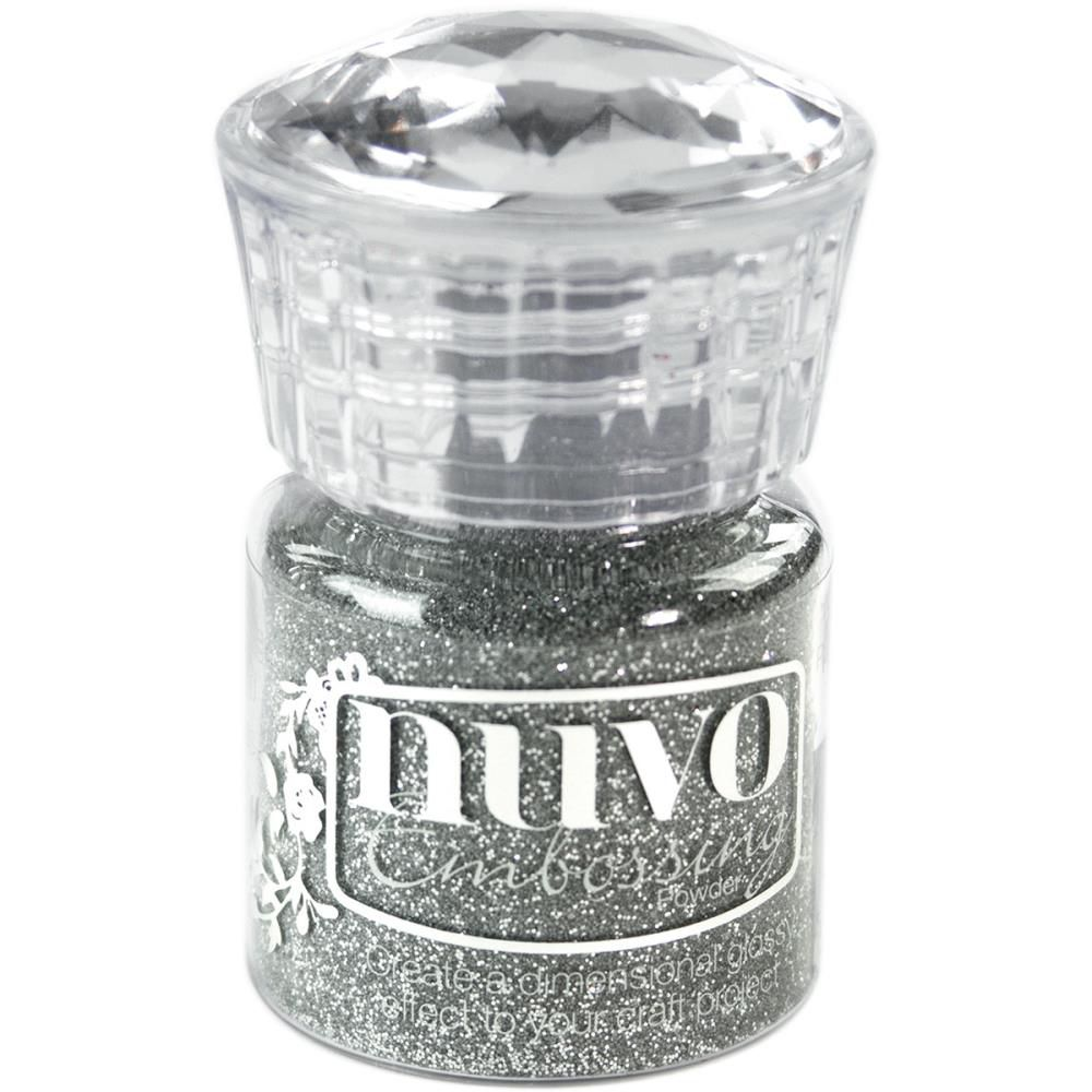 Glitter Embossing Powder - Silver Moonlight