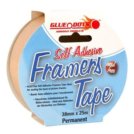 GLUE DOTS FRAMERS TAPE
