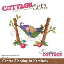 "Gnome Sleeping In Hammock 4.1\""X2.9\"""
