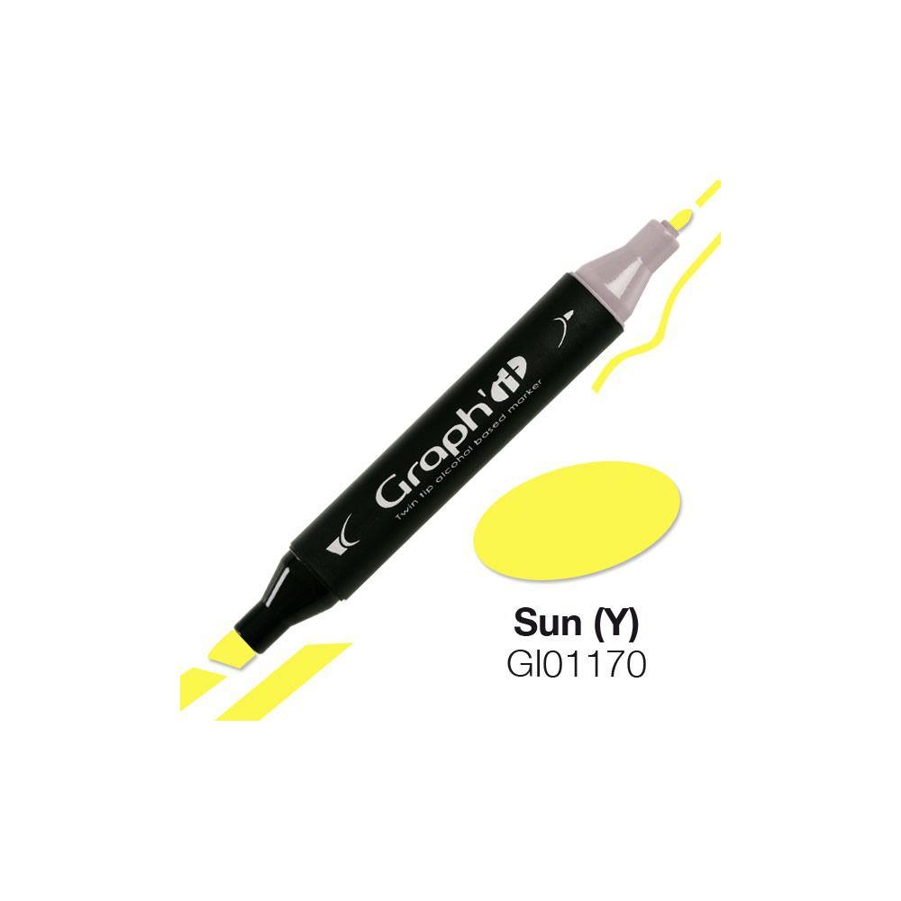 GRAPH\'IT Marqueur alcool 1170 - Sun (Y)