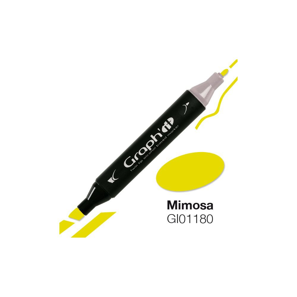 GRAPH\'IT Marqueur alcool 1180 - Mimosa