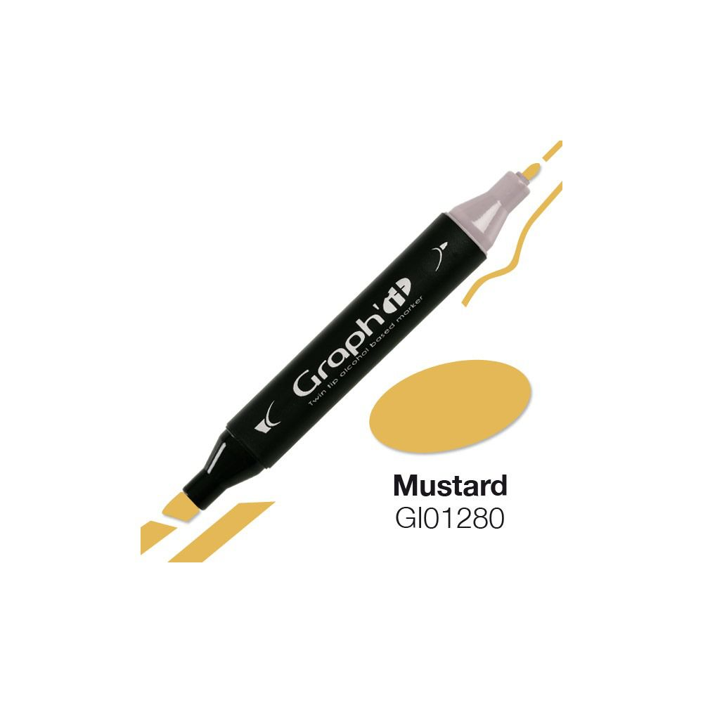 GRAPH\'IT Marqueur alcool 1280 - Mustard