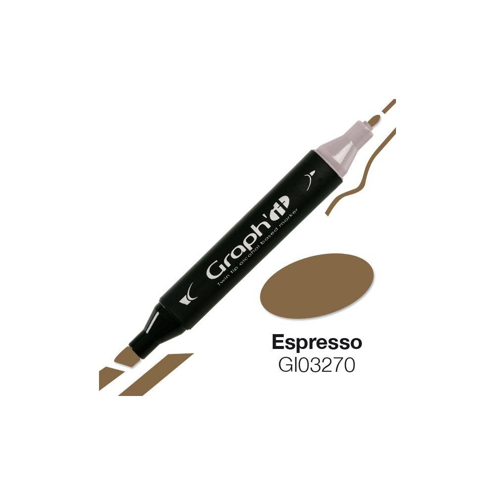 GRAPH\'IT Marqueur alcool 3270 - Espresso