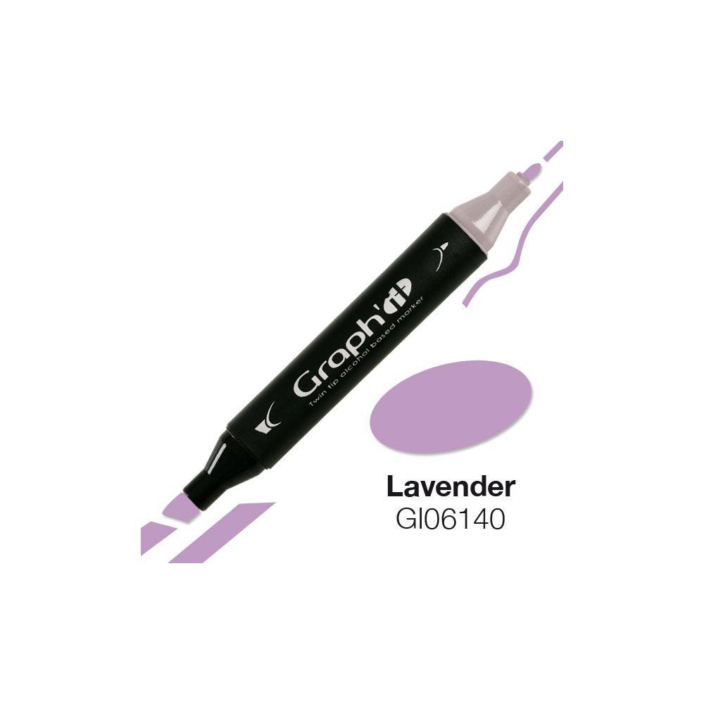 GRAPH\'IT Marqueur alcool 6140 - Lavender