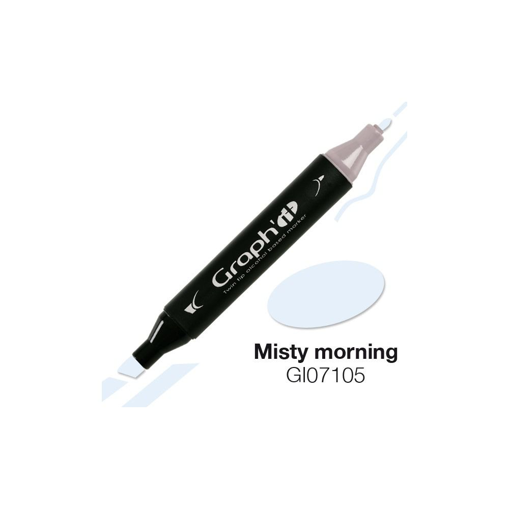 GRAPH\'IT Marqueur alcool 7105 - Misty Morning
