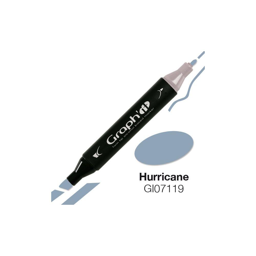 GRAPH IT Marqueur alcool 7119 - Hurricane