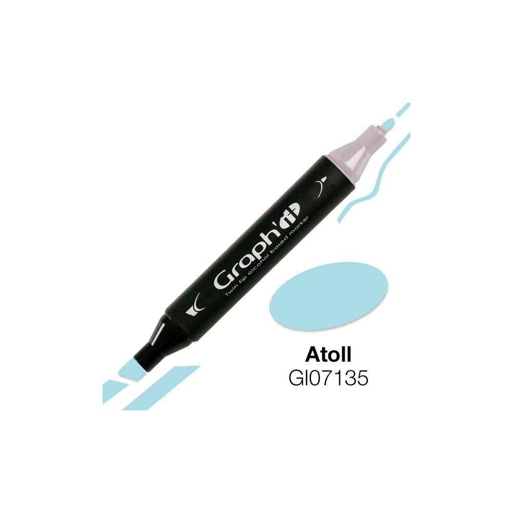 GRAPH\'IT Marqueur alcool 7135 - Atoll