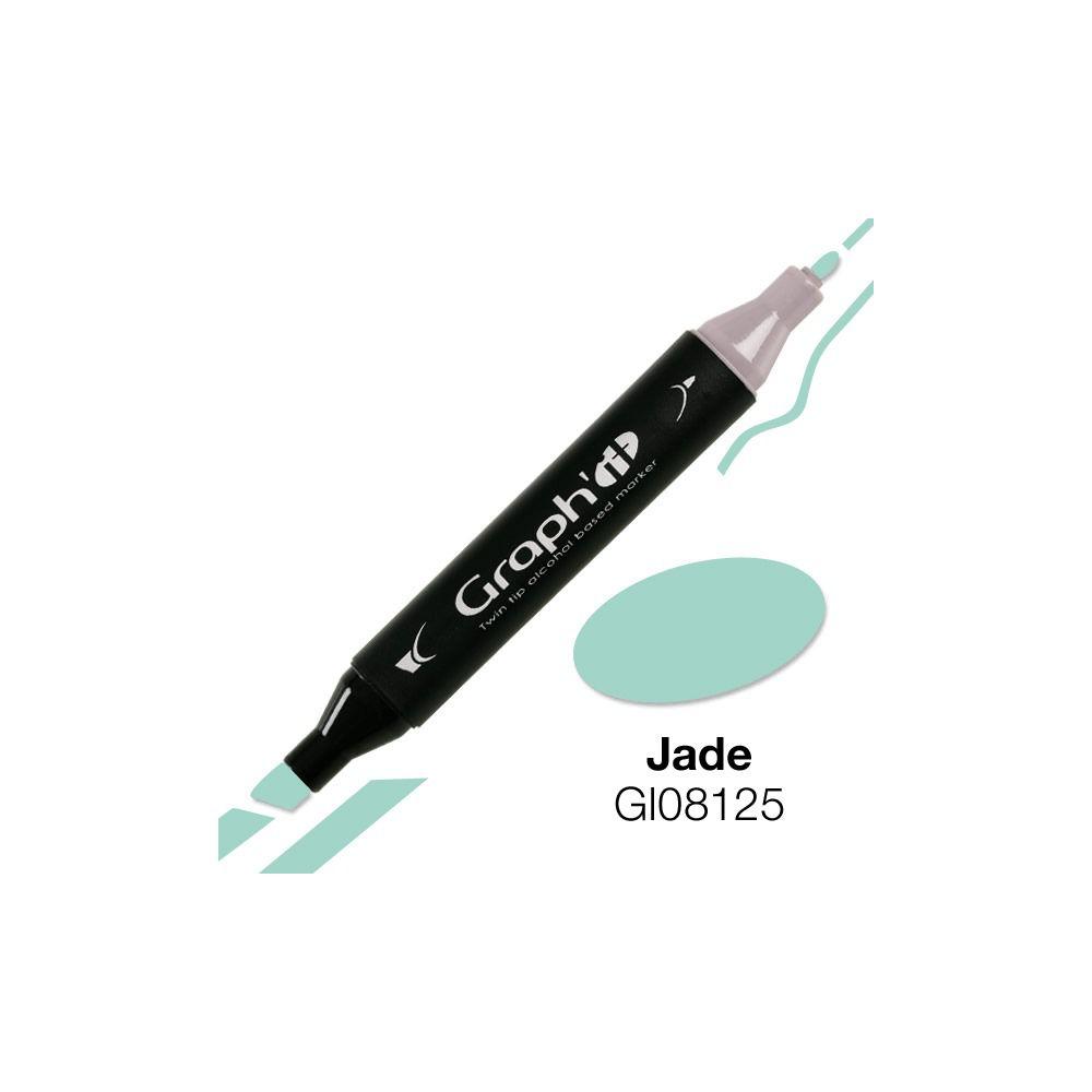 GRAPH\'IT Marqueur alcool 8125 - Jade*