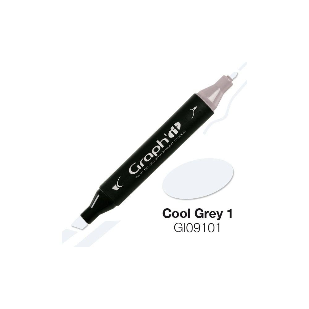 GRAPH\'IT Marqueur alcool 9101 - Cool Grey 1