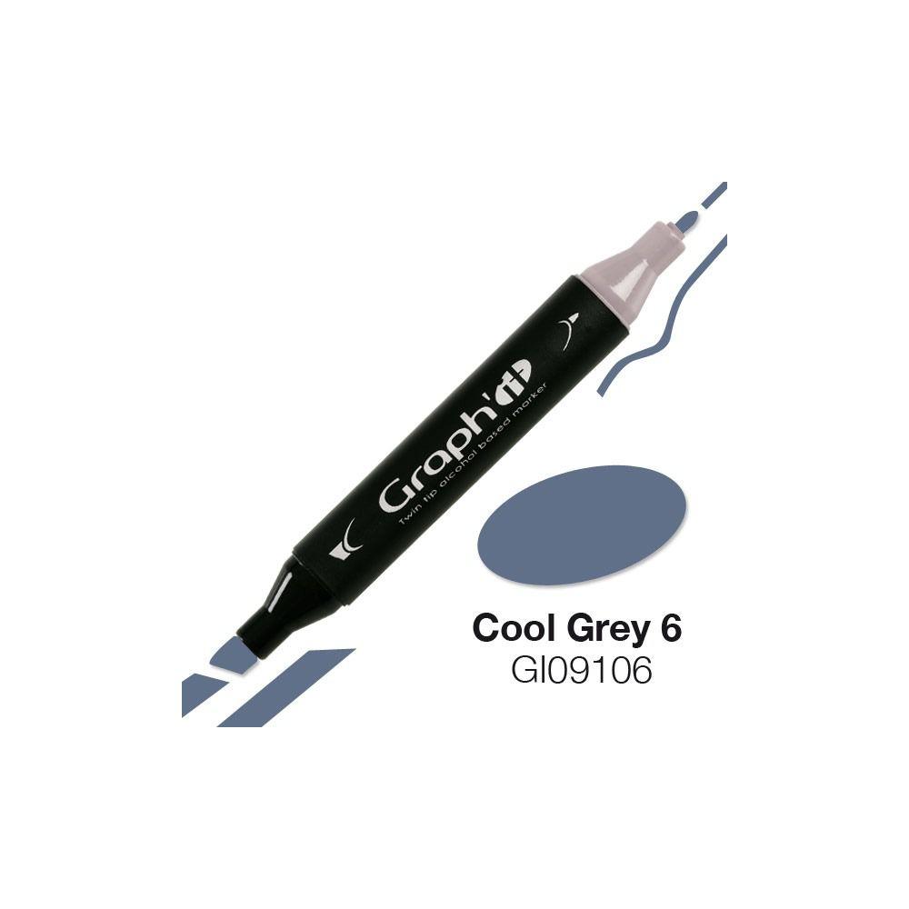 GRAPH\'IT Marqueur alcool 9106 - Cool Grey 6